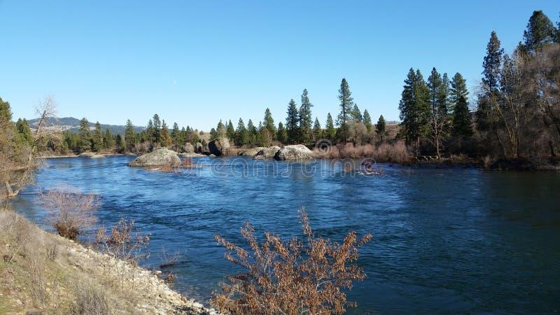 De rivier van Spokane royalty-vrije stock foto