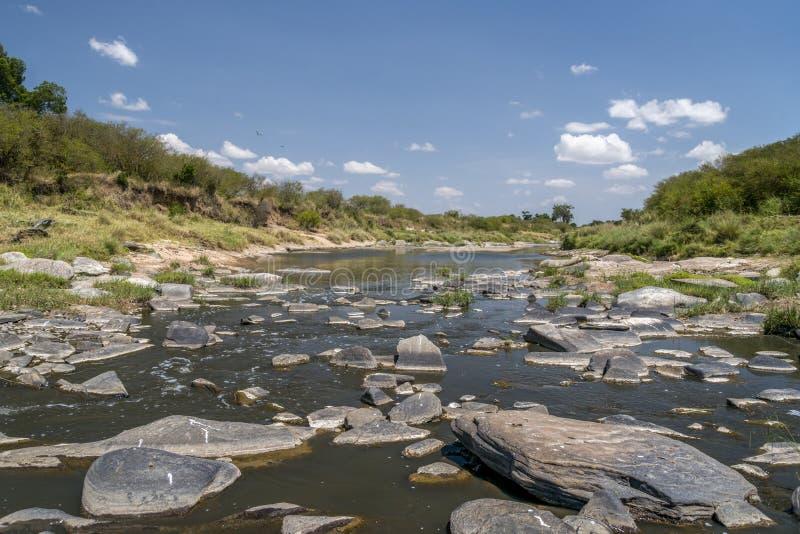 De rivier van Tanzania royalty-vrije stock afbeeldingen