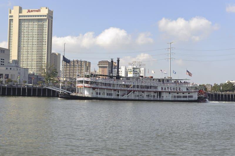 De rivierboot van New Orleans royalty-vrije stock afbeeldingen