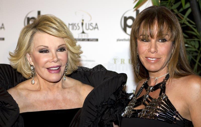 De Rivieren van Joan en Melissa stock foto's