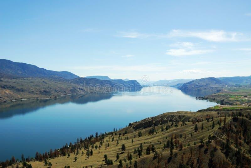 De riviervallei van Thompson in Brits Colombia stock afbeeldingen