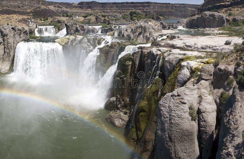 De rivierwaterval van de slang royalty-vrije stock foto's