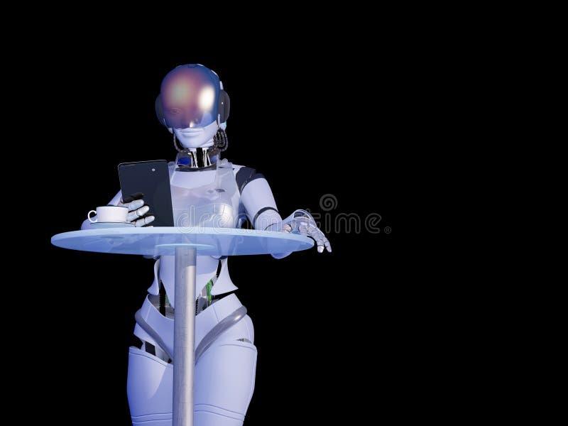 De robot stock illustratie