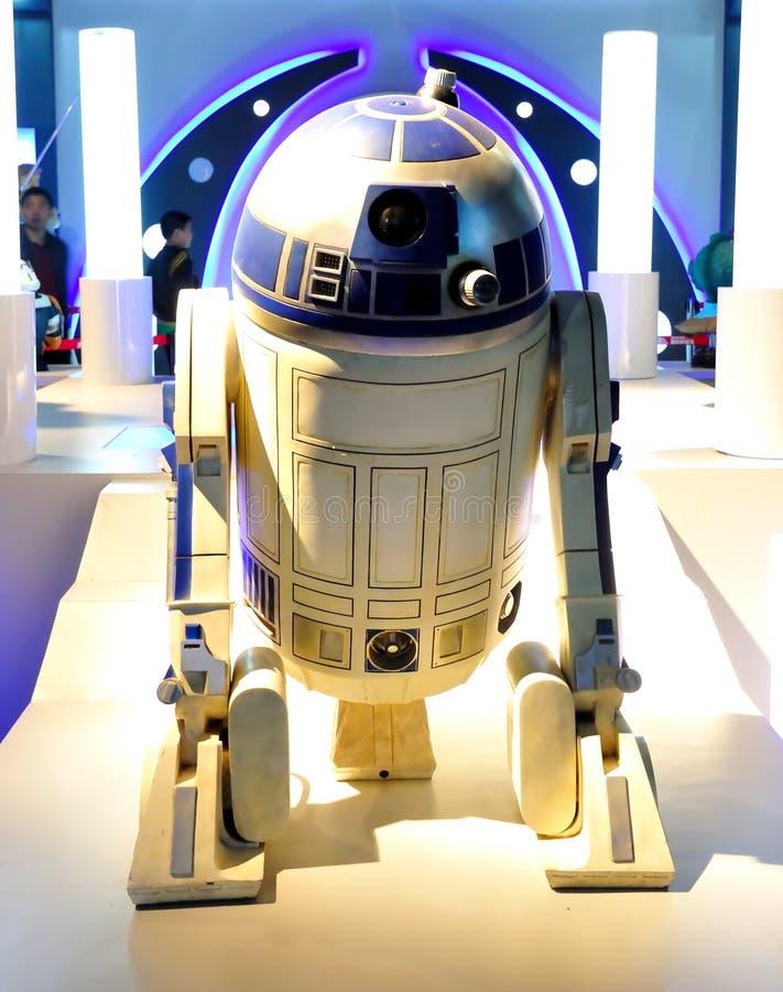 De Robot R2-D2 van Star Wars stock foto's