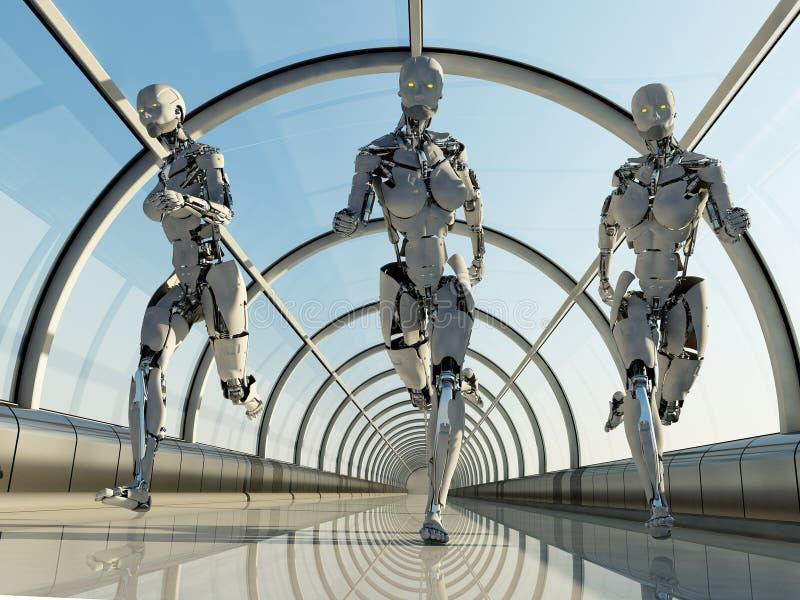De robot royalty-vrije illustratie