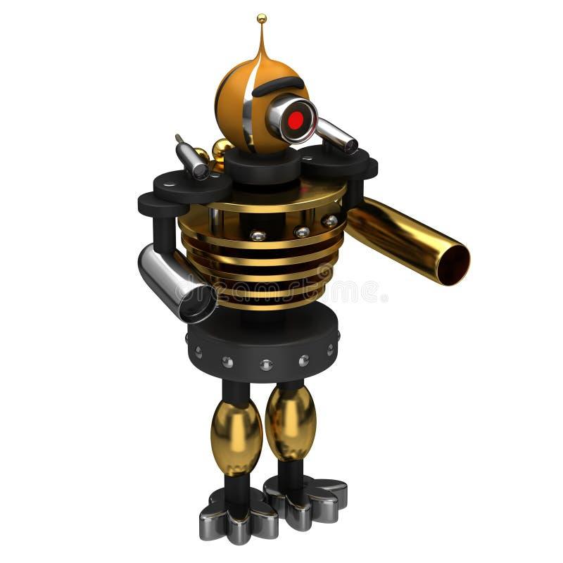 De robot van het monster vector illustratie