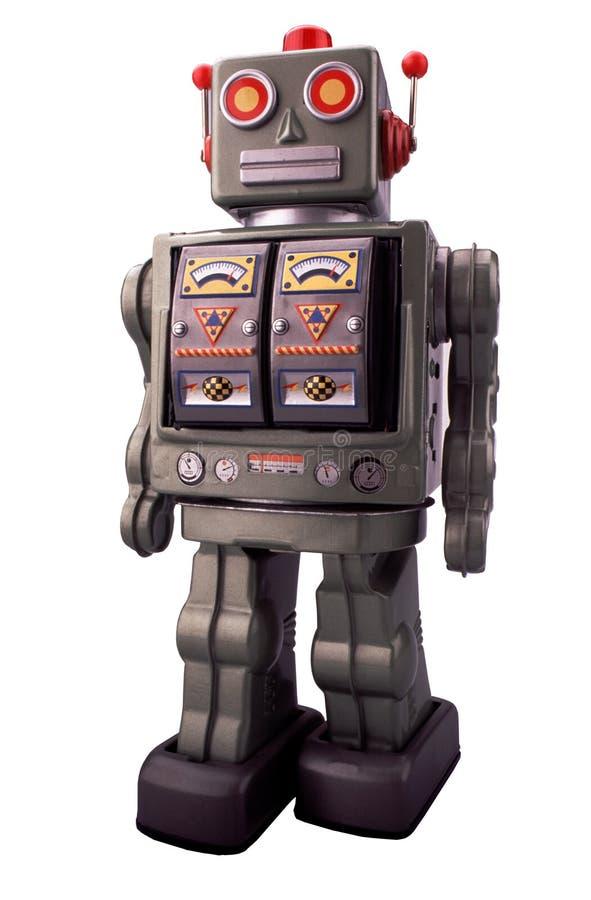 De robot van het stuk speelgoed royalty-vrije stock foto's
