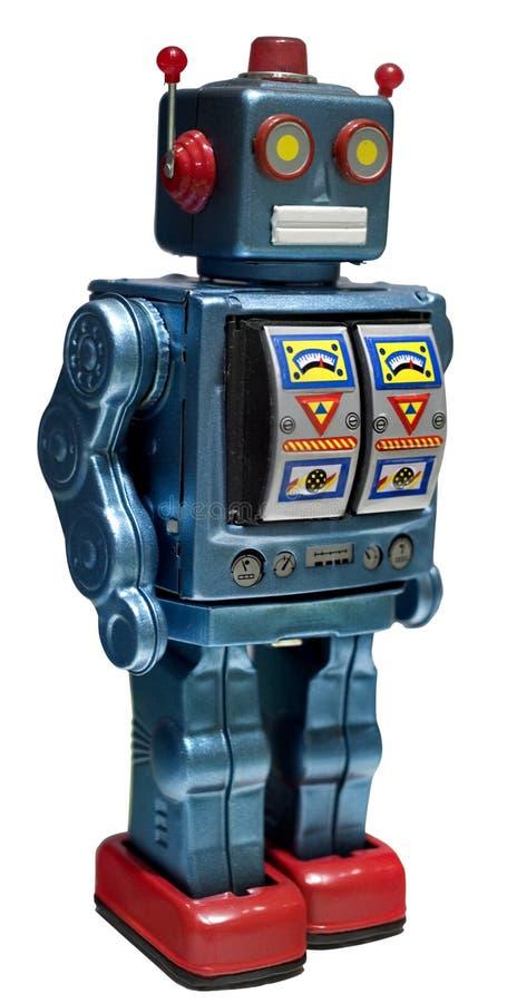 De robot van het stuk speelgoed stock afbeeldingen
