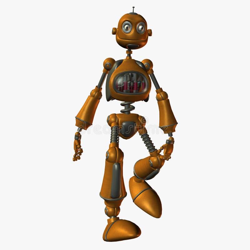 De Robot van Toonimal royalty-vrije illustratie