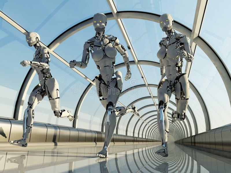 De Robots stock illustratie