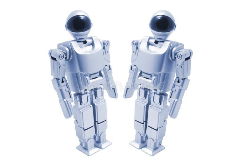 De Robots van het stuk speelgoed stock foto's
