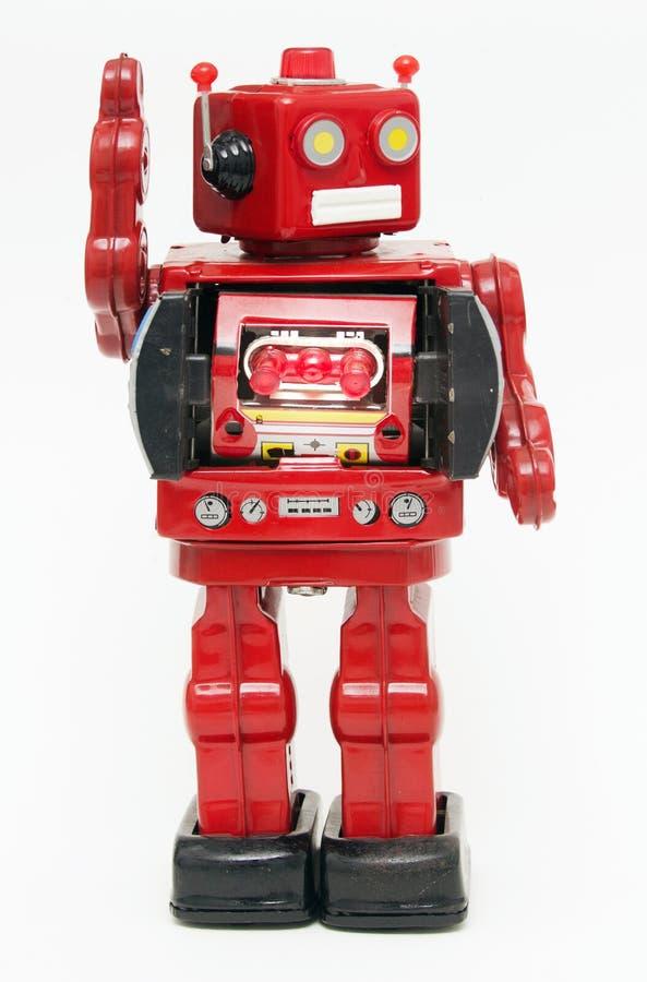 De robots zeggen hallo royalty-vrije stock foto's