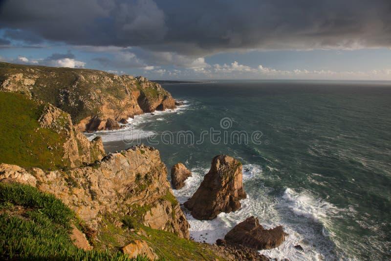 De Roca-Kaap royalty-vrije stock fotografie