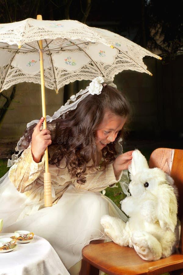 De roddel van het konijn royalty-vrije stock afbeeldingen