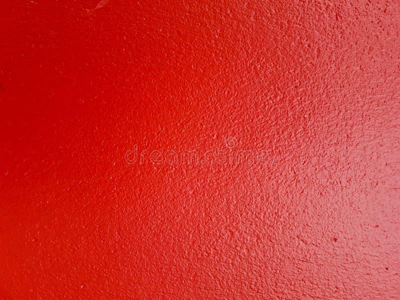 De rode achtergrond van de cementmuur voor textuur en achtergrond royalty-vrije stock foto's