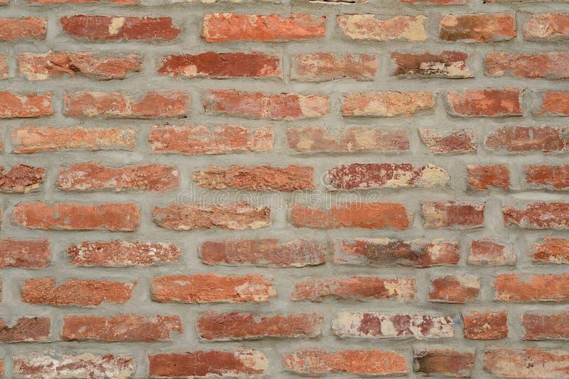 De rode achtergrond van de bakstenen muurtextuur stock afbeeldingen