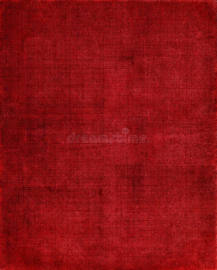 De rode Achtergrond van de Doek royalty-vrije stock foto