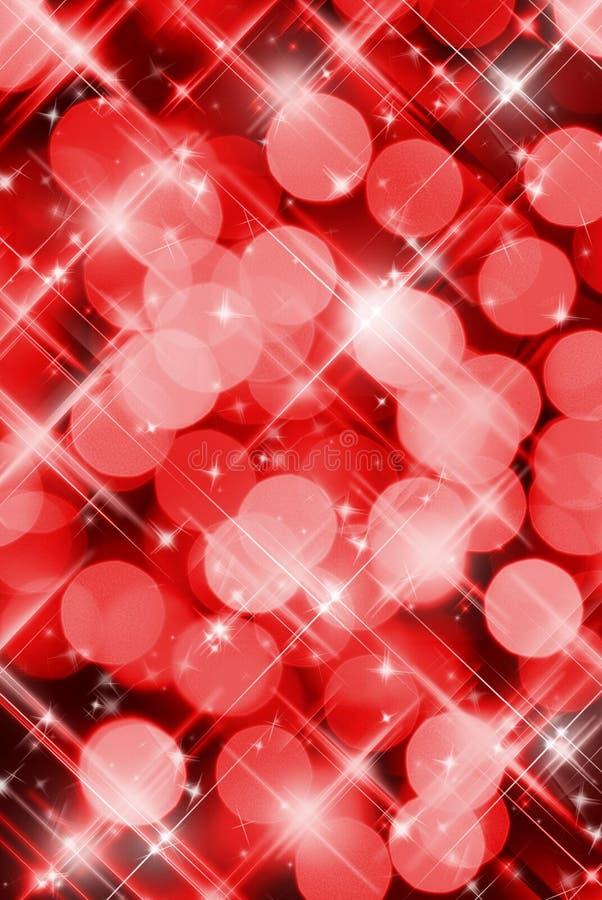 De rode achtergrond van de Partij stock afbeelding