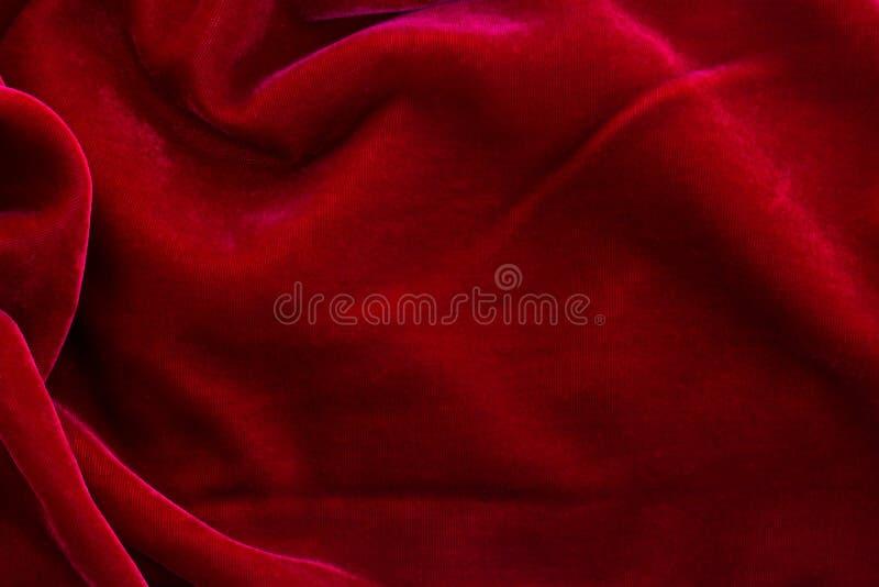 De rode Achtergrond van het Fluweel royalty-vrije stock foto's