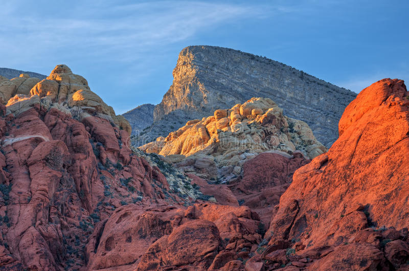 De rode Canion van de Rots stock fotografie