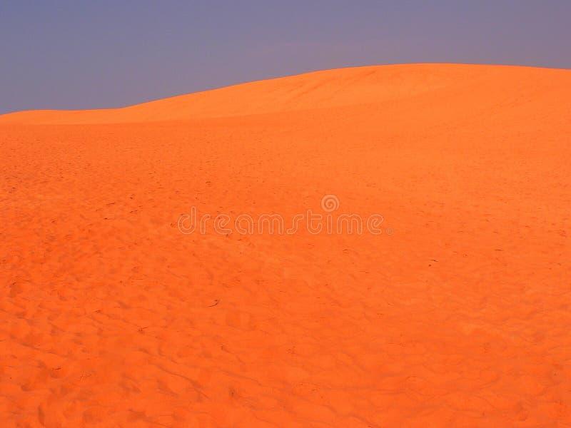De rode Duinen van het Zand Vietnam stock afbeeldingen
