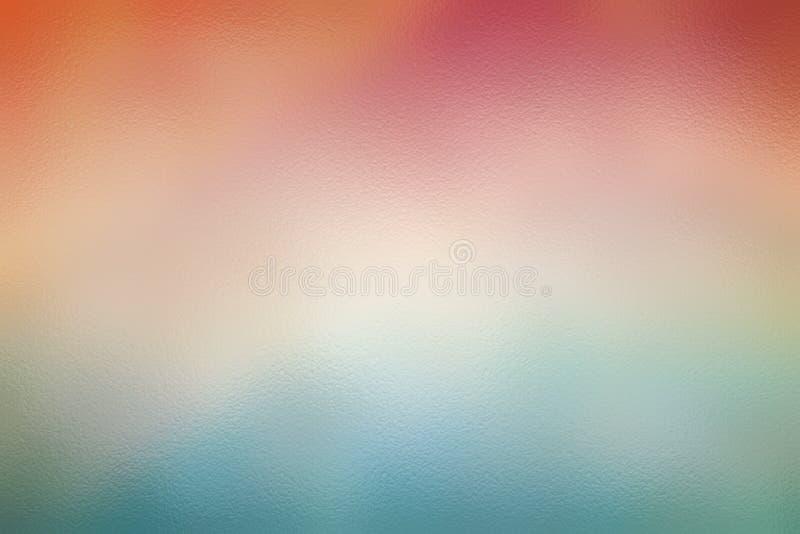 De rode en blauwe abstracte achtergrond of het patroon van de glastextuur vector illustratie