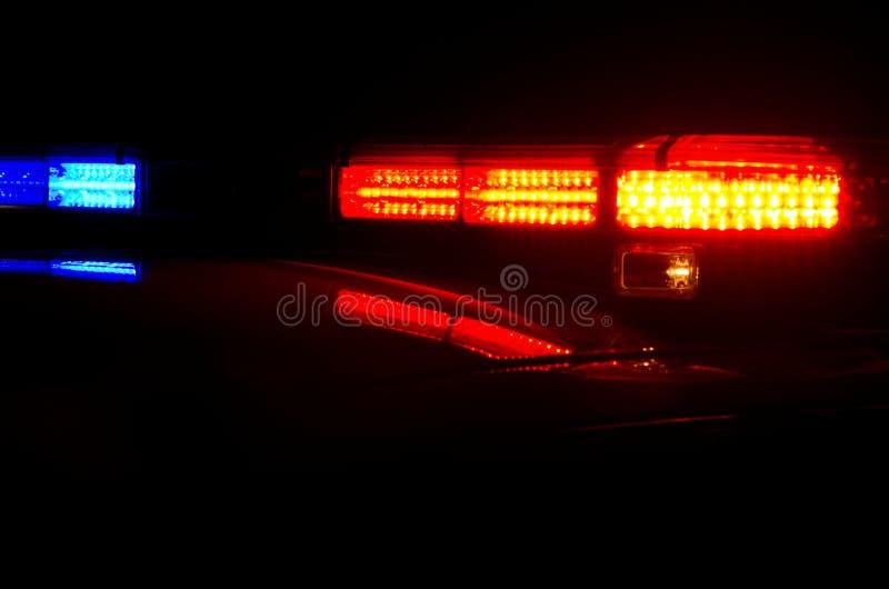 De Patrouille van de nacht stock afbeelding