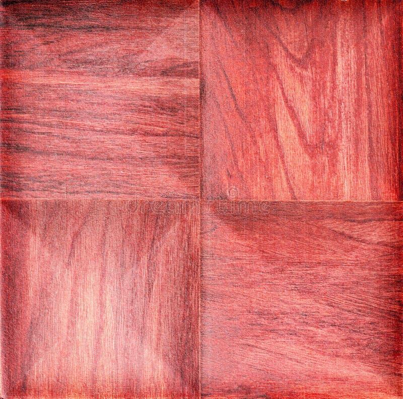 De rode houten achtergrond van de triplextextuur stock afbeelding