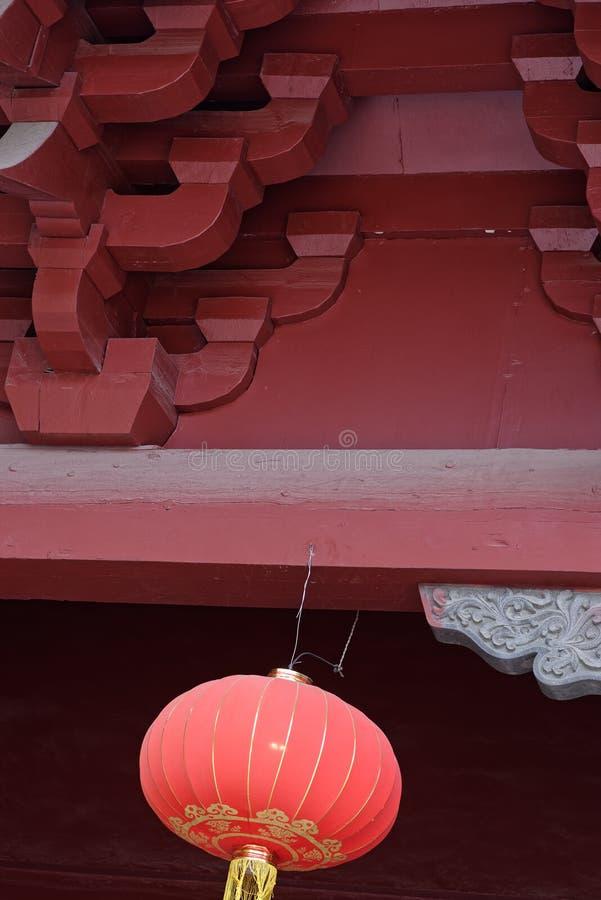 De rode lantaarn royalty-vrije stock fotografie