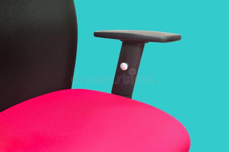 De rode stoel stock afbeeldingen