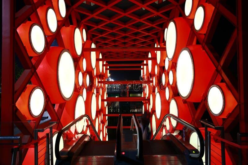 De rode trommel van China stock afbeeldingen