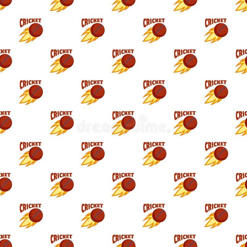 De rode van het de veenmolpatroon van de brandbal naadloze vector royalty-vrije illustratie