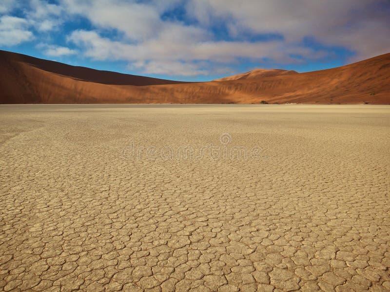 De Rode Woestijn royalty-vrije stock foto