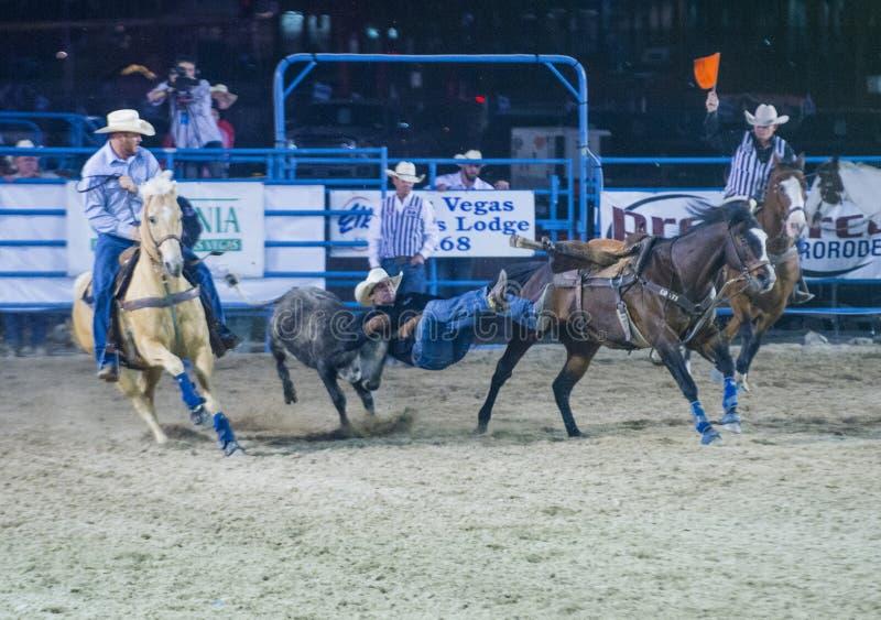 De rodeo van Helldoradodagen stock afbeelding