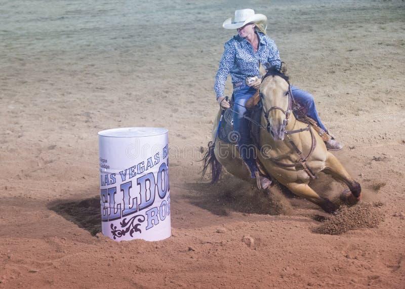 De rodeo van Helldoradodagen royalty-vrije stock afbeeldingen