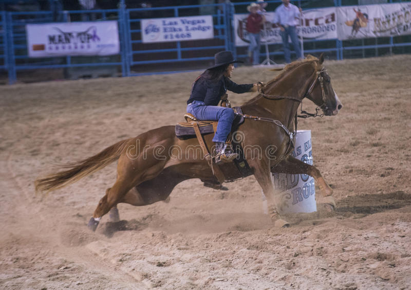 De rodeo van Helldoradodagen royalty-vrije stock foto