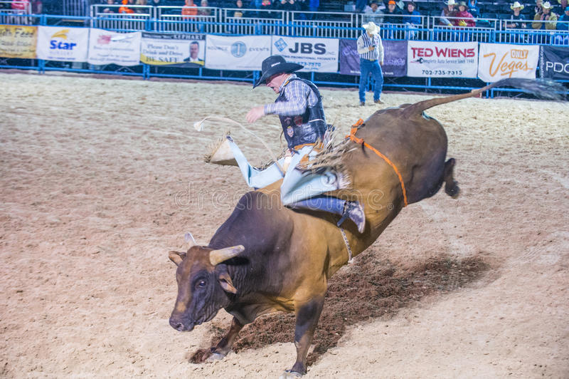De rodeo van Helldoradodagen stock foto's