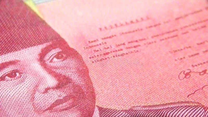 De Roepie is de Indonesische munt royalty-vrije stock afbeeldingen