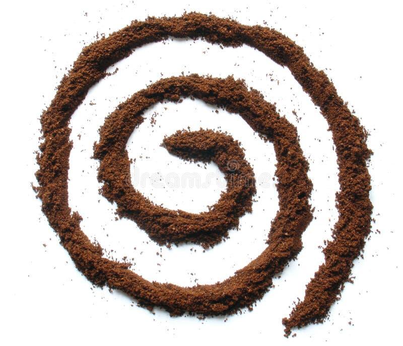 De roes van de koffie royalty-vrije stock foto