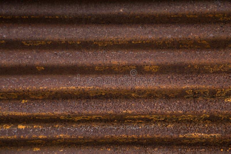 De roestachtergrond van het dakwerkmetaal, achtergrondtextuur royalty-vrije stock foto's