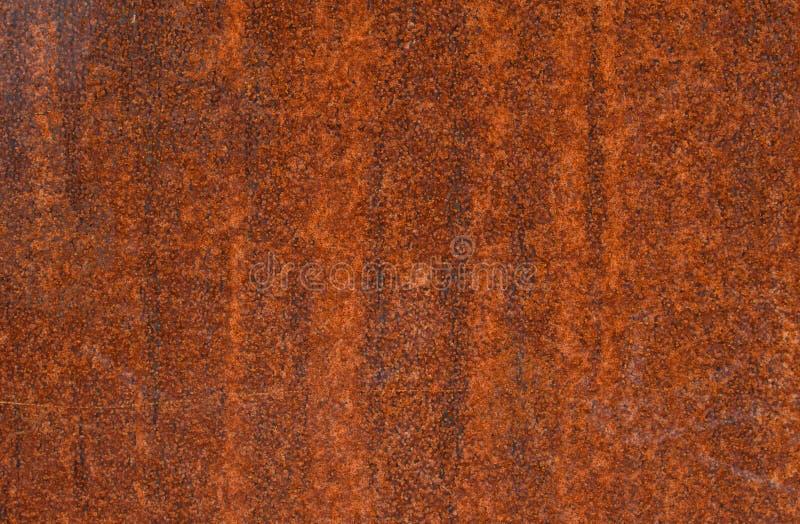 De roestige oppervlakte van het metaal stock fotografie