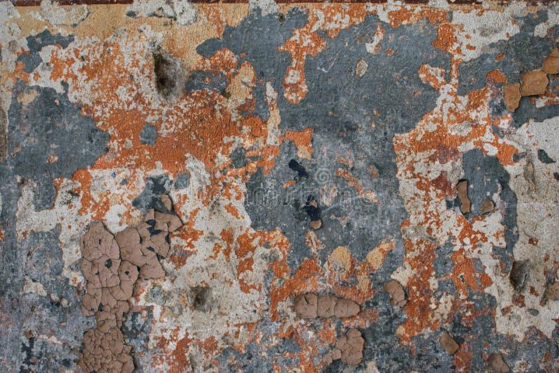 De roestige oppervlakte van het metaal royalty-vrije stock afbeeldingen