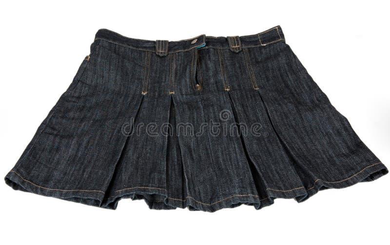 De rok van Jean royalty-vrije stock foto's