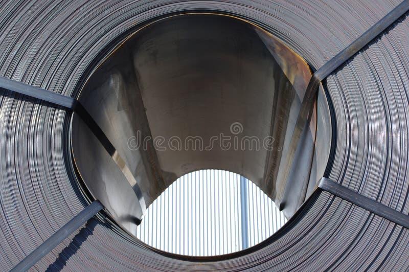 De Rol van het staal stock afbeeldingen