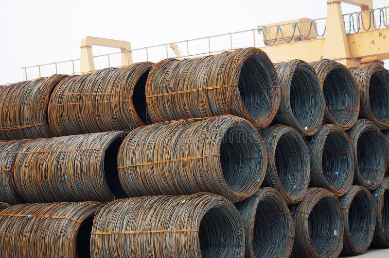 De rol van het staal royalty-vrije stock afbeelding