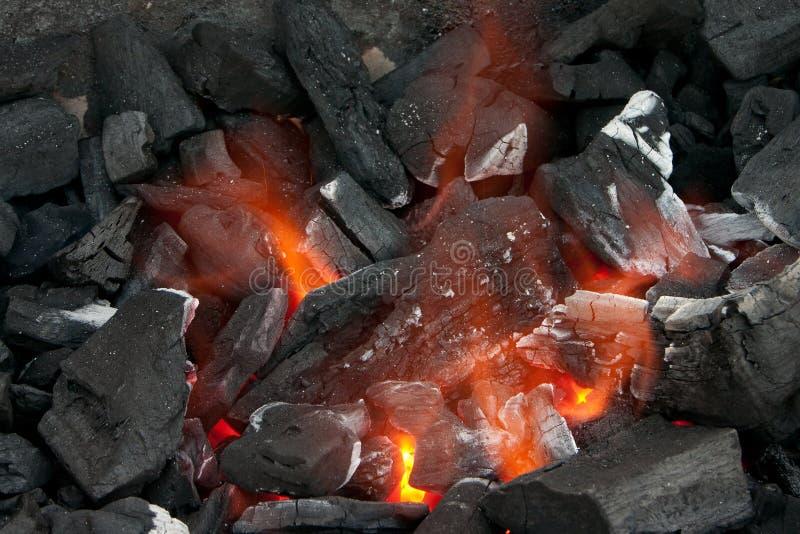 De rollen van de barbecue stock foto