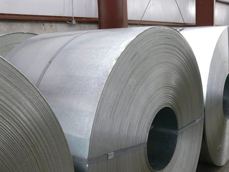 De rollen van het staal royalty-vrije stock afbeeldingen