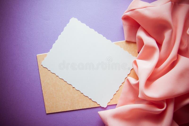 De romantische roze achtergrond van lila& royalty-vrije stock foto