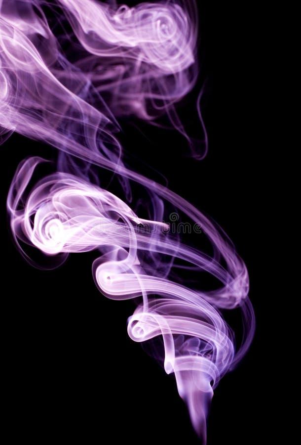 De rook van de kleur royalty-vrije stock foto's