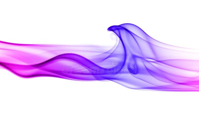 De rook van de kleur royalty-vrije stock afbeelding
